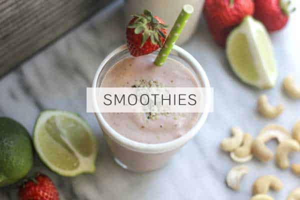 Hemp Seeds in Smoothies