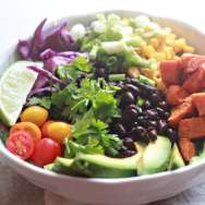 Sweet Potato Mexican Black Bean Salad
