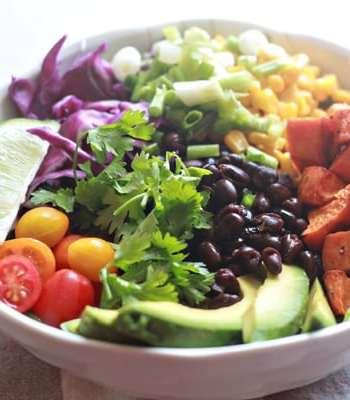Sweet Potato Mexican Black Bean Salad