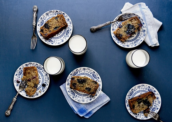 20 Creative and Delicious Banana Bread Recipes: Vegan Blueberry Banana Bread