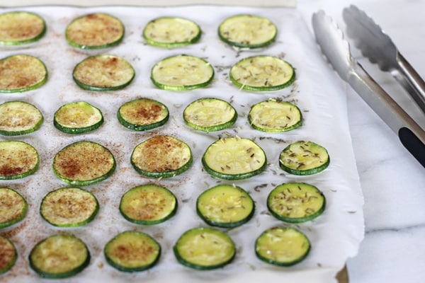Bake Zucchini Slices