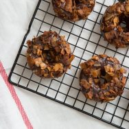 Chocolate Coconut Bacon Doughnuts Recipe