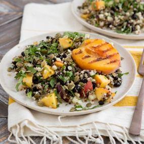 Fiery Fruit and Quinoa Salad