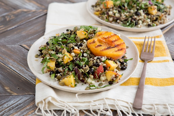 Fiery Fruit and Quinoa Salad
