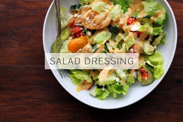Hummus Salad Dressing