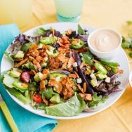 Vegan Southwest BLT Salad