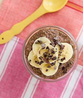 Chocolate Peanut Butter Chia Breakfast Parfait Recipe
