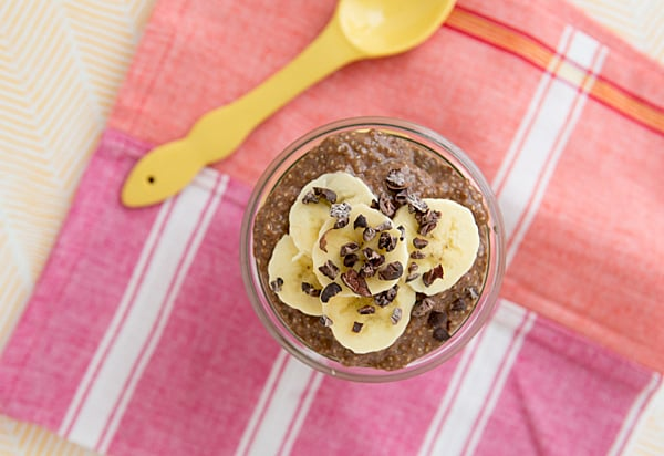Chocolate Peanut Butter Chia Breakfast Parfait Recipe