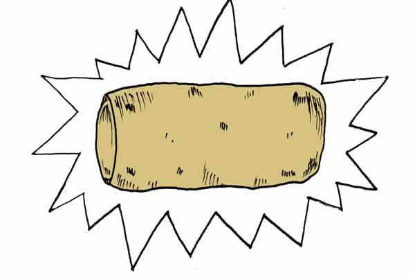 Finished Burrito