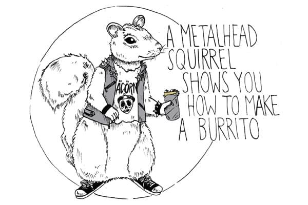 How to Make a Burrito