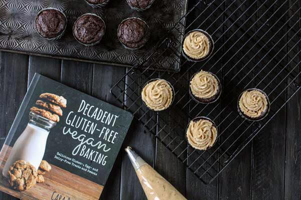 Peanut Butter Chocolate Cupcakes from Decadent Gluten-Free Vegan Baking