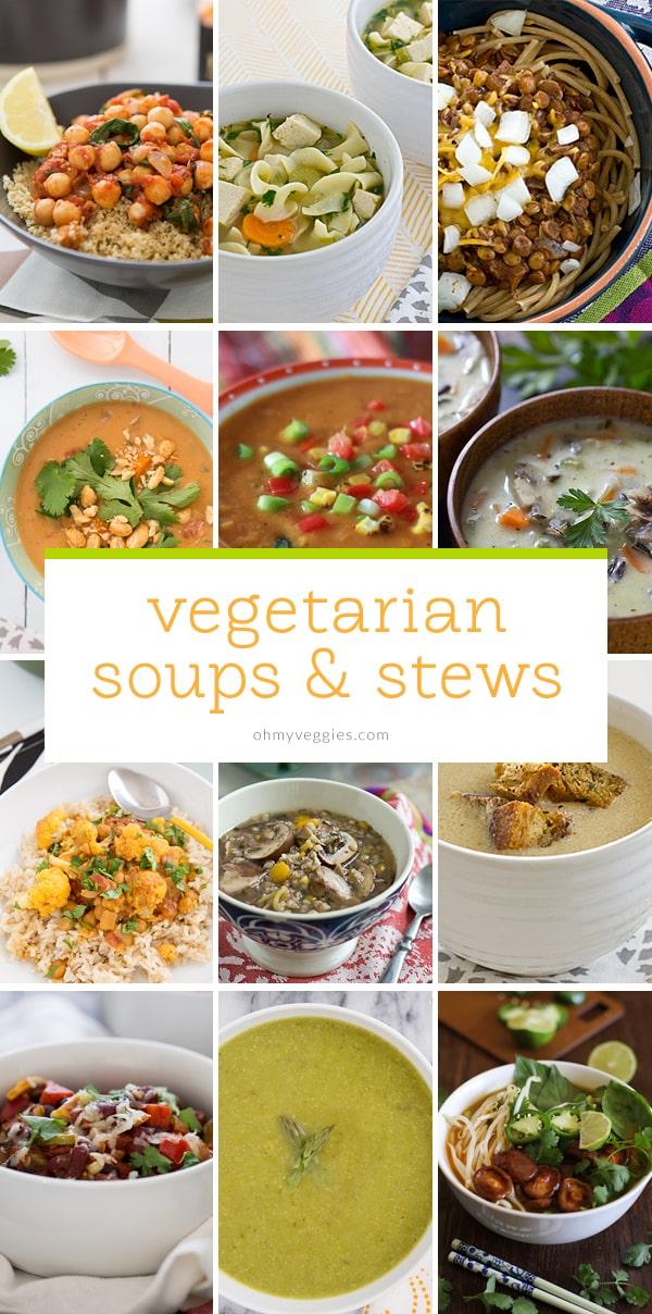 Vegetarian Soups & Stews