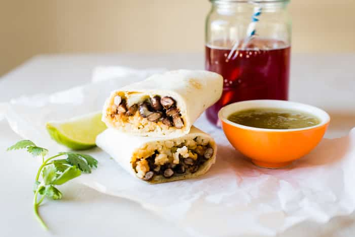 1chipotle black bean and cheese burritos