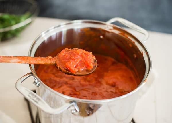 How To Make Freeze Homemade Tomato Sauce From Ohmyveggiescom