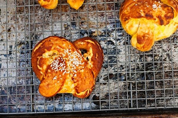 Pumpkin Soft Pretzels