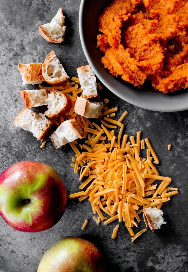 Pumpkin Cheddar Stuffing