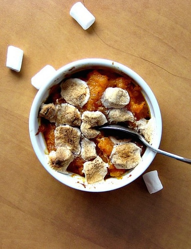 Smashed Sweet Potatoes & Butternut Squash