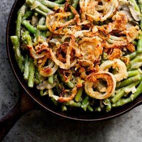 Vegan Green Bean Casserole Recipe