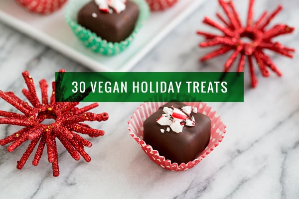 30 Recipes For Vegan Holiday Cookies Candy And Treats