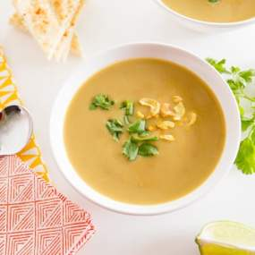 Red Lentil Cashew Soup Recipe