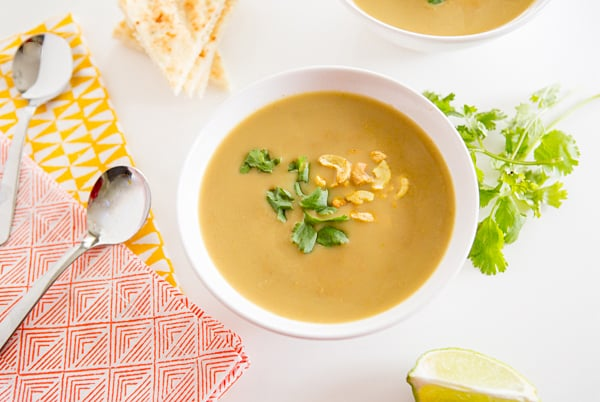 Red Lentil Cashew Soup Recipe