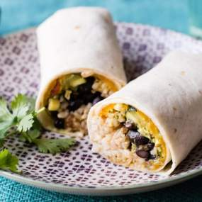 Garden Veggie Freezer Burrito Recipe