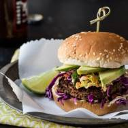 Jamaican Jerk Veggie Burger Recipe