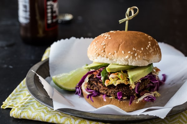 Jamaican Jerk Veggie Burger Recipe
