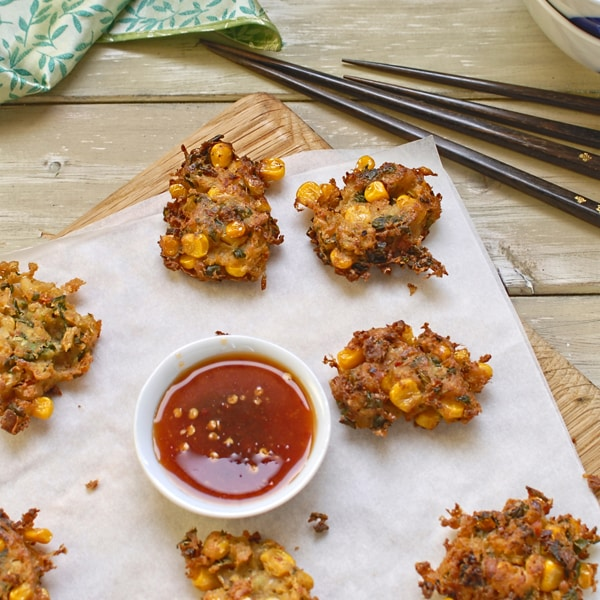 Thai-Style Sweet Corn Fritters