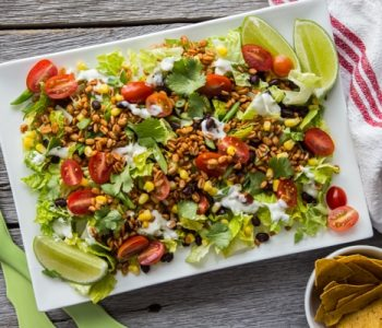 The Ultimate Vegan Taco Salad Recipe