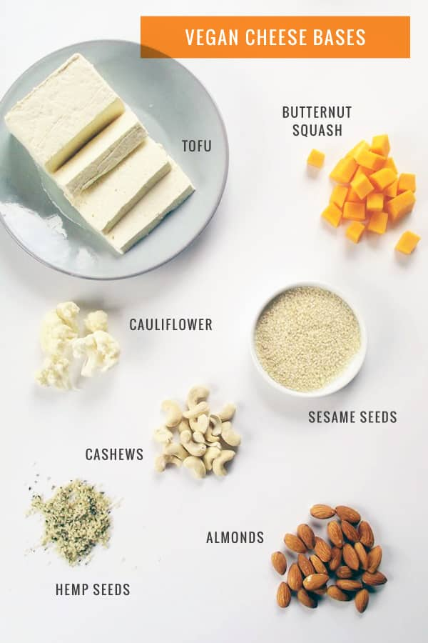 what is vegan cheese made of