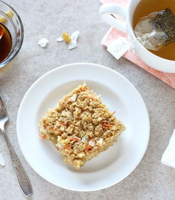 Morning Glory Baked Oatmeal