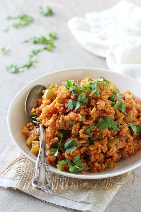 Veggie-Packed Spanish Rice