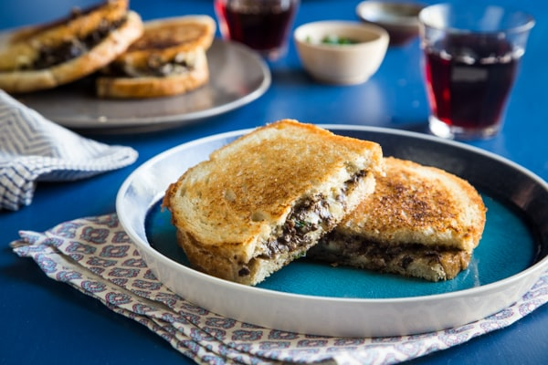 Duxelles Grilled Cheese Recipe
