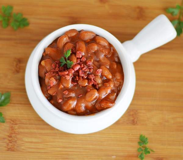 Vegan Brown Sugar Barbecue Baked Beans