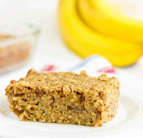 Banana Nut Quinoa Bars