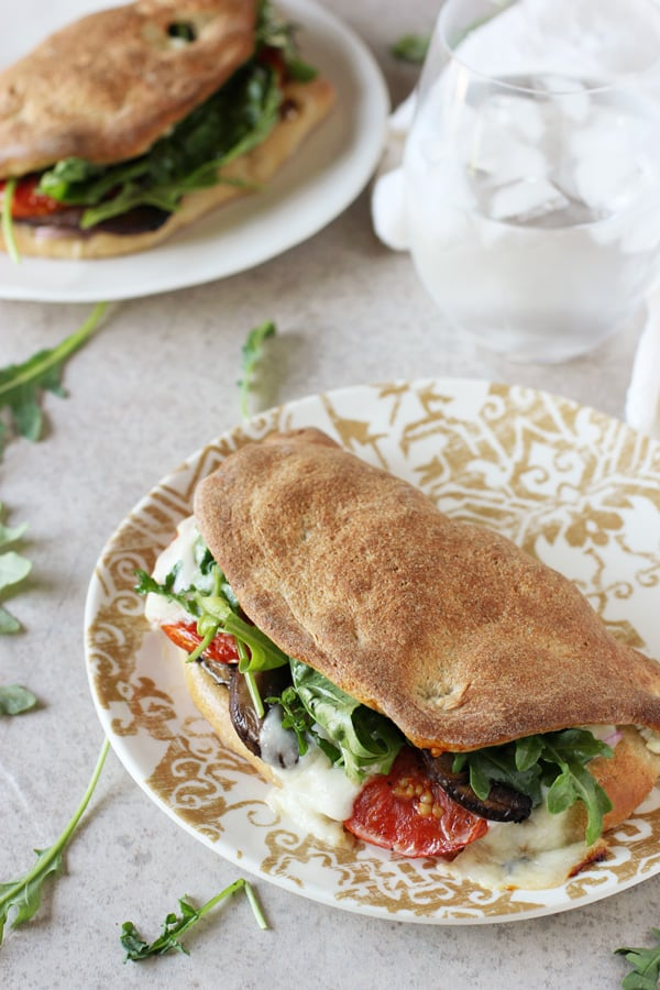 Veggie Pizza Sandwiches