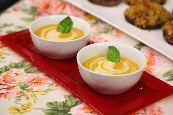 Butternut Squash Soup from Vegan-Ease