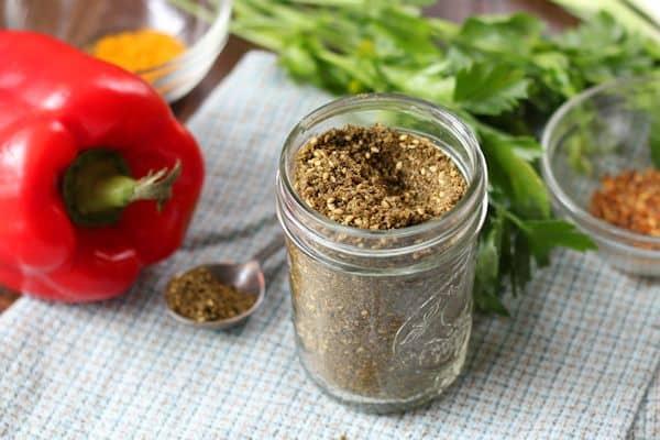 Mediterranean Tofu Scramble Ingredients