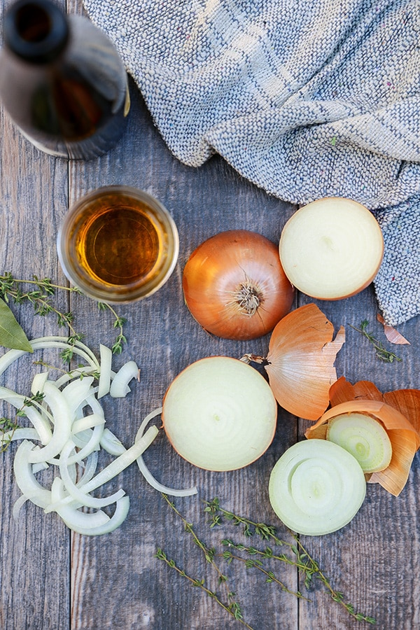 Caramelized Onion and Apple Cider Gravy