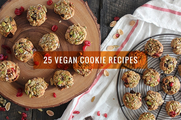 25 Vegan Cookie Recipes