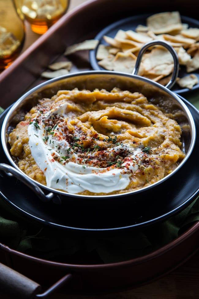 Acorn Squash & Caramelized Onion Dip