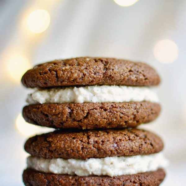 Perfect Vegan Gingersnap Cookies