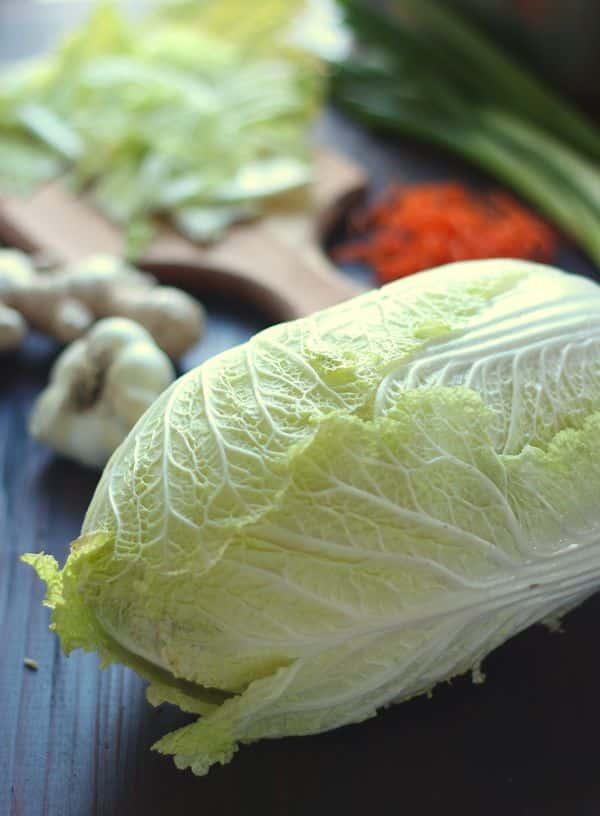 How to Make Homemade Vegan Kimchi