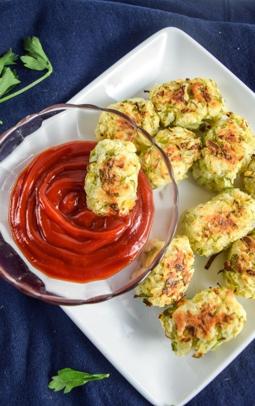 Brussels Sprout Tots