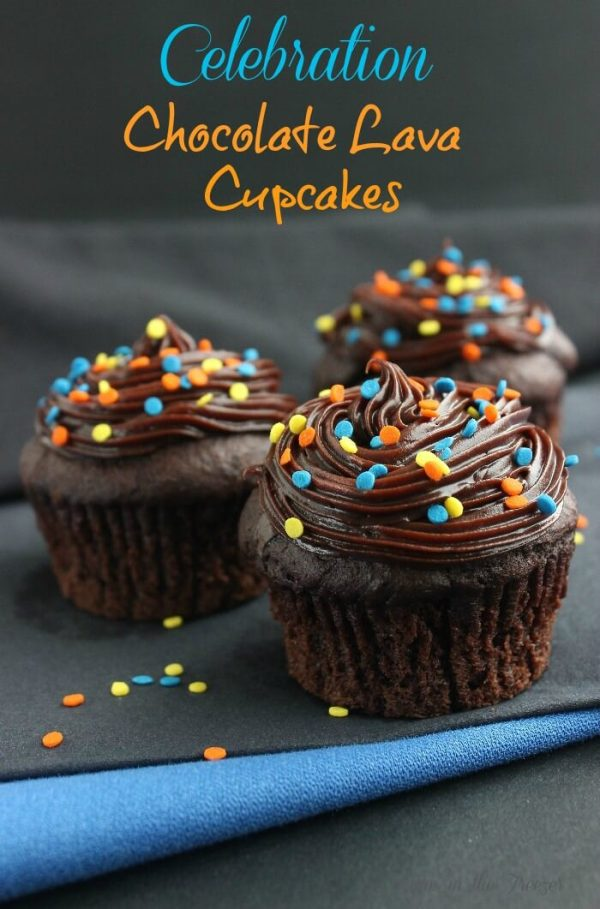 Chocolate Lava Cupcakes