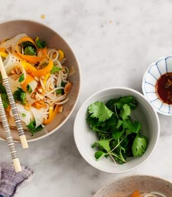 Mango & Daikon Glass Noodle Salad Recipe