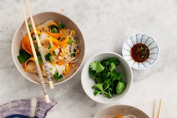 Mango & Daikon Glass Noodle Salad Recipe