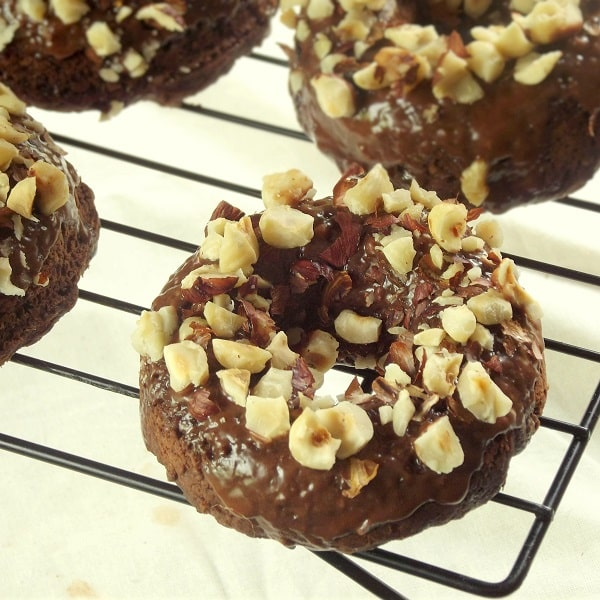 Chocolate Hazelnut Donuts