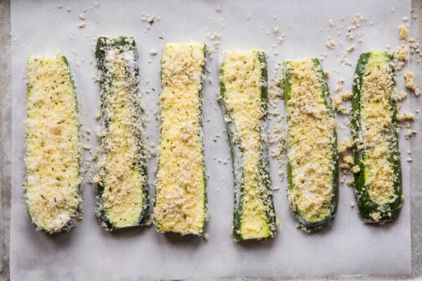 Breaded Zucchini